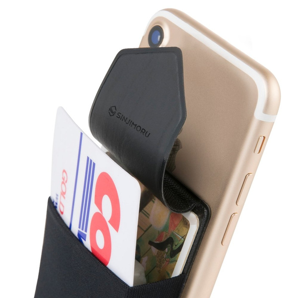huge discount dc0f6 26293 Credit Card Holder for Back of Phone, SINJIMORU Phone Sleeves for Cards.  Card Holder, Stick on Wallet , Card Case and Phone wallet for iPhone and ...