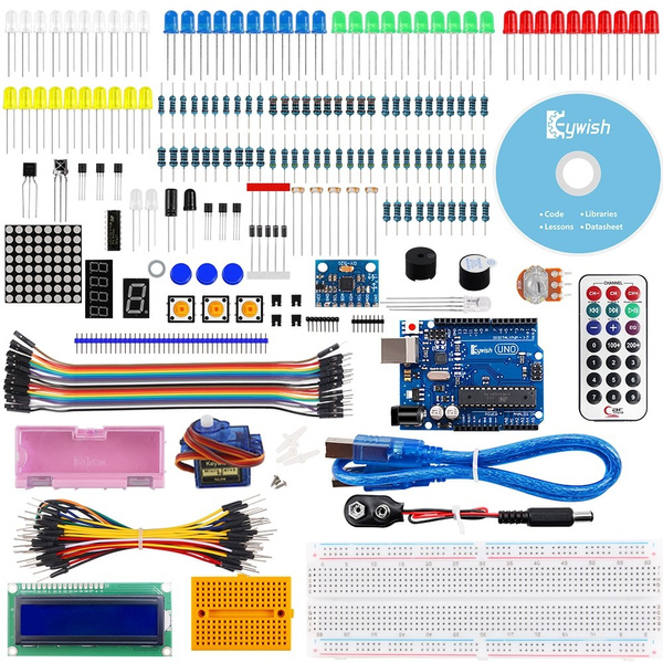 For Arduino,Keywish Project MPU6050 Starter Kit with Tutorial 6 Axial  MPU-6050 Module Axis Analog Gyro Sensors Gyroscope Accelerometer Stance  Tilt,