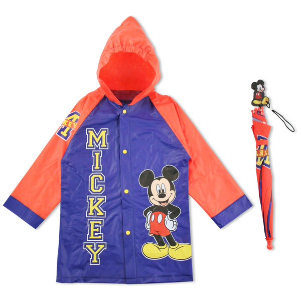 9bb9dfcc2 Disney Little Boys Mickey Mouse Character Slicker and Umbrella ...