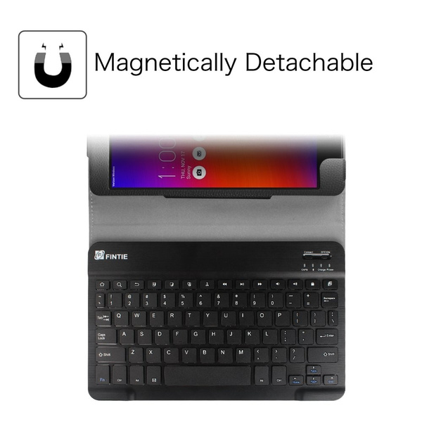 5687f69c197 Wish | Fintie Asus ZenPad 3S 10 Z500M / ZenPad Z10 ZT500KL Keyboard Case -  Slim Fit Folio Stand Cover w/ Detachable Wireless Bluetooth Keyboard for  Verizon ...