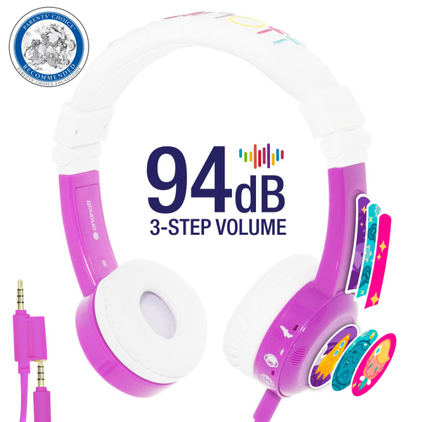 Best Over Ear Headphones for Kids-Volume Limiting with Headphone Splitter  and Microphone - Gifts for Children TV, Gaming, Language Learning Software,