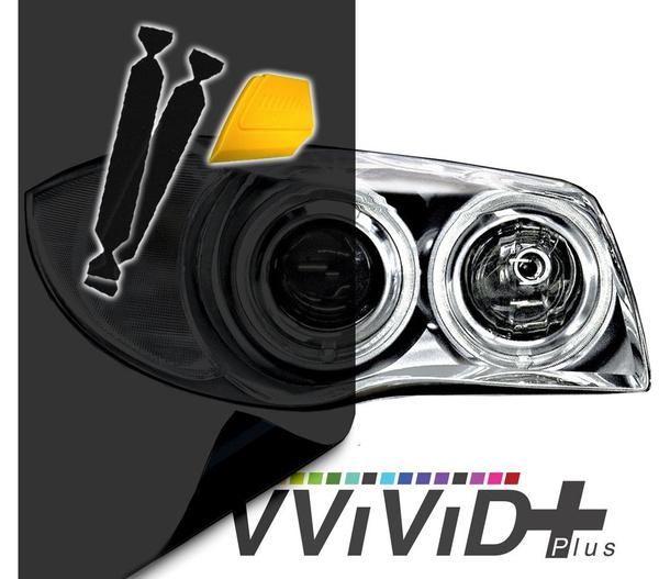 VViViD Air-Tint Extra-Wide Headlight Taillight Vinyl Tint Wrap 16