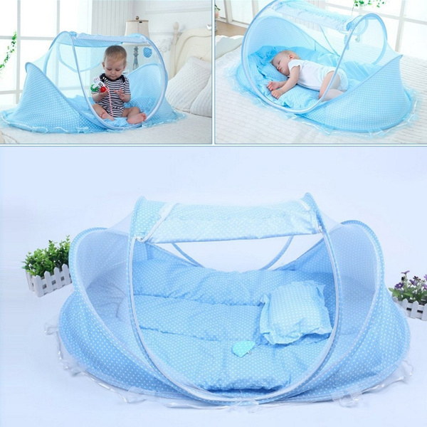 Kidstime Baby Travel Bed Baby Bed Portable Folding Baby Crib