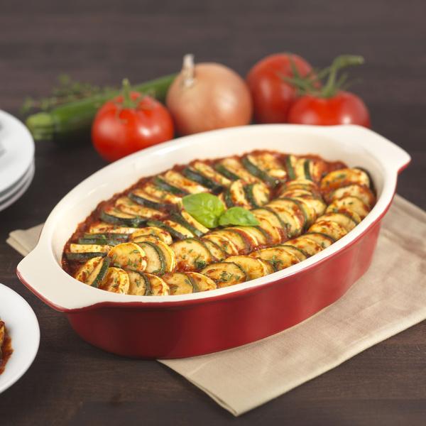 Wish | Good Cook 04489 OvenFresh Stoneware Ceramic Casserole Dish ...