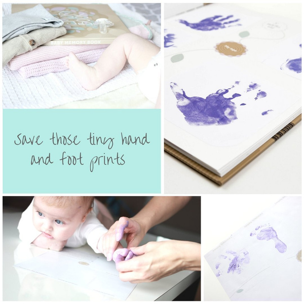 Wish Baby Memory Book And Journal For First Year Pregnancy