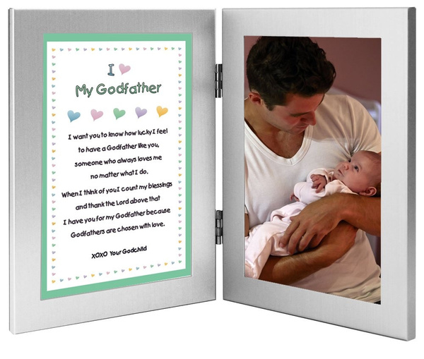 Wish | Godfather Gift - Sweet Godfather Poem From Godson or ...