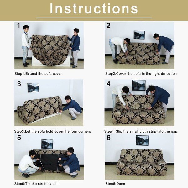 Wish Uxcell 1 2 3 4 Seater Sofa Covers Sofa Slipcovers Protector