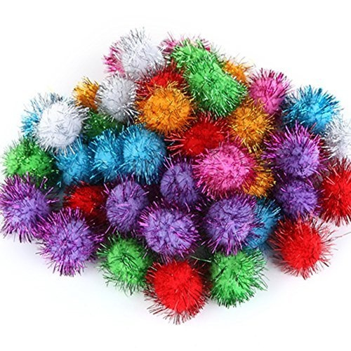 Crafting Pom Poms 1.5 inch various colors!