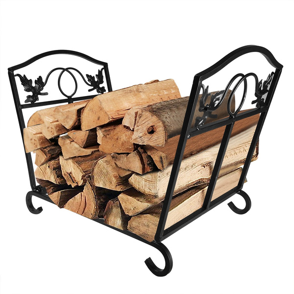 Fireplace Log Holder Wrought Iron