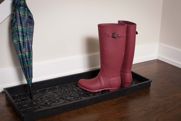 Wish BirdRock Home Rubber Boot Tray 40 Inch Decorative Boot Tray Adorable Decorative Boot Tray