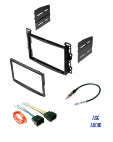 Compatible Vehicles Listed Below Other ASC Double Din Car Stereo Dash Kit and Wire Harness for some Scion Toyota