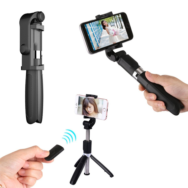buy popular 23131 a91a3 Bluetooth Selfie Stick Tripod Extendable Selfie Stick with Wireless Remote  and Tripod Stand Selfie Stick for iPhone X/iPhone 8/8 Plus/iPhone 7/iPhone  ...