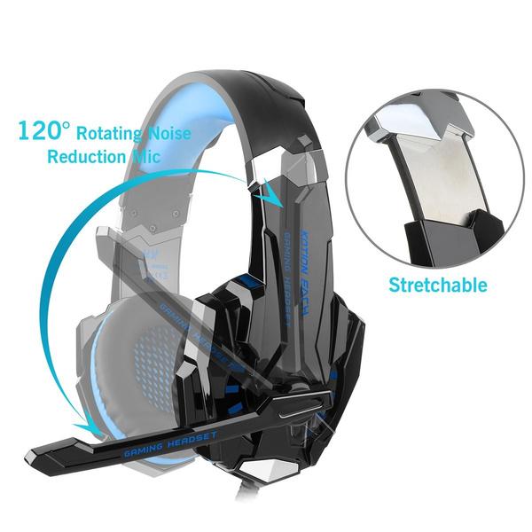 Geek Diza100 Kotion Each G9000 Gaming Headset Headphone 35mm