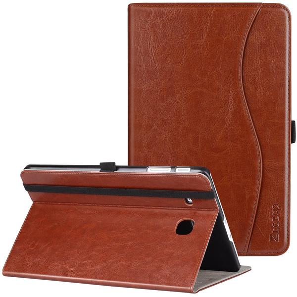 huge discount 147ec a8de8 Samsung Galaxy Tab E 9.6 Case, Ztotop Premium Leather Slim Folding Cover  for Samsung Galaxy Tab E Wi-Fi / Tab E Nook 9.6-Inch Tablet Verizon 4G LTE  ...