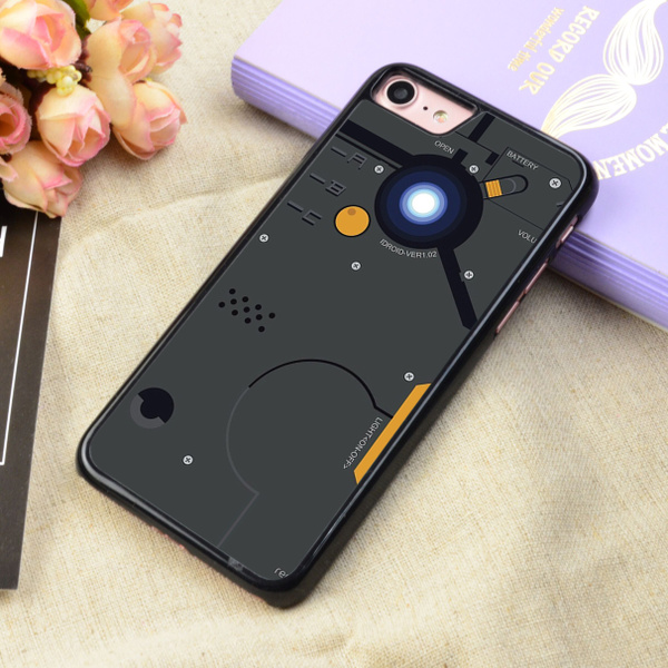 wholesale dealer 0d3b7 4a5c7 Metal Gear Solid Idroid Art Protective Phone Case For iPhone 4 5 6 7 8 X  and Samsung Galaxy S4 S5 S6 S7 S8 Note 3 4 5 7 8 Plus