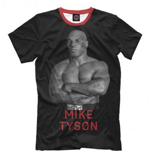 Mike Tyson Iron Mike T-Shirt  Catskill Boxing Club Legend Mens Michael Gerard