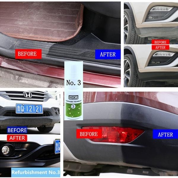 Hgkj Car Coating Kit Car Ceramic Glass Coating Car Paint Protection Car Plastic Care Interior Cleaning Super Hydrophobic Anti Scratch Uv