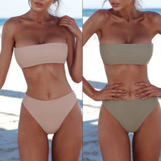 bathing suit, strapless, Bikinis Set, hanesbikinibrief