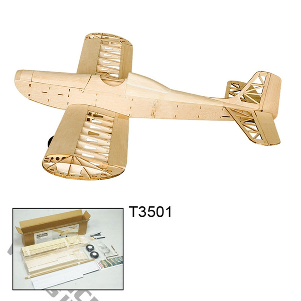 DW Hobby Electric Powered Astro Junior Balsa Wood Airplane KIT 1380mm Laser  Cut RC Plane Model Building Kits for Adults