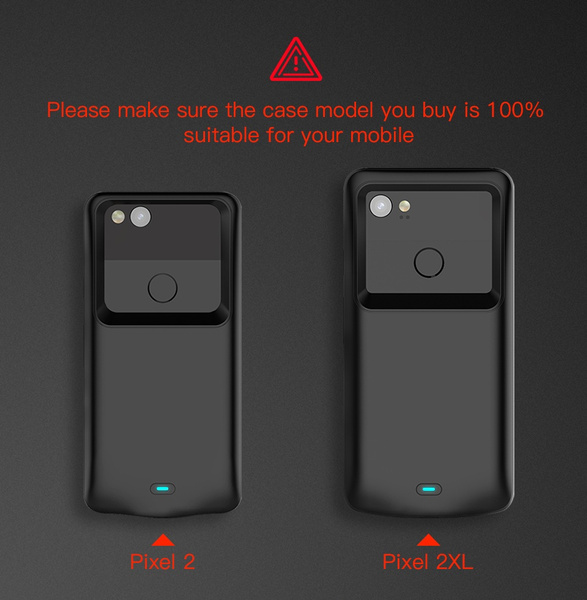 pretty nice a00b4 4984d battery charger case for Google Pixel 2XL Exclusive Slim Portable Charging  Cases for Pixel 2 Power Bank