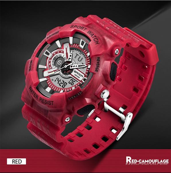 2018Multifunctional South Korean trendy fashion electronic watch luminous  waterproof neutral outdoor tide watch 799