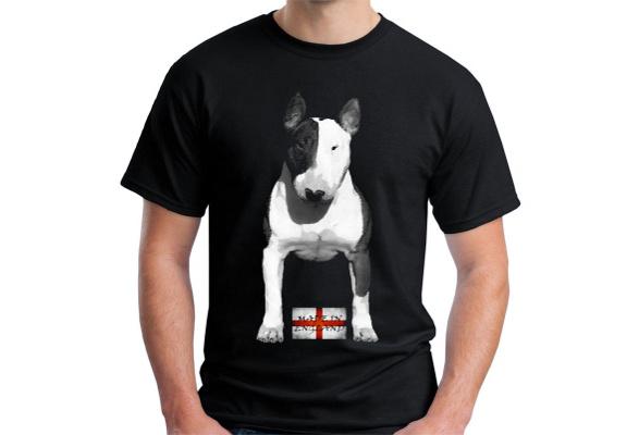 Velocitee Kids T-Shirt English Bull Terrier EBT Bully Dog V174