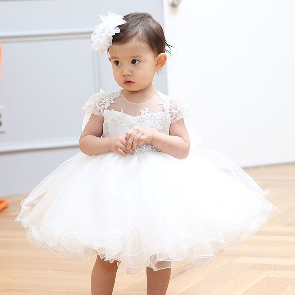 Wish Dmfgd Newborn Baby Girls Dresses For Baptism Birthday Party