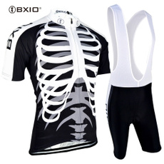 courte, skinsuit, maillot, ciclismo