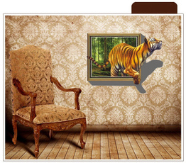 PVC wall stickers, kids wall stickers, Fashion wall sticker, Home & Living
