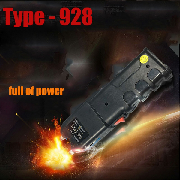 928 Type Super High Voltage Riggers, LED Lighting Shock Pulse, Self-defense  Tool, High Power Super Bright Flashlights, Rechargeable