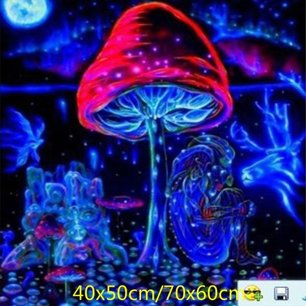 art, Mushroom, Posters, trippyposter
