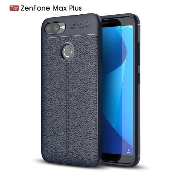 reputable site dcaa8 c12dc For Asus Zenfone Max Plus ZB570TL Case Shockproof Luxury Leather full TPU  Cover For Asus ZenFone Max Plus M1 ZB570TL Funda X018D
