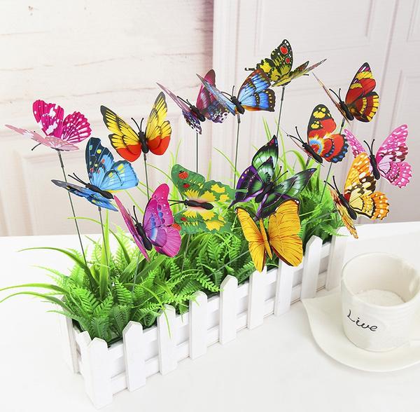 homeampgarden, Butterflies, Garden, flowerbed