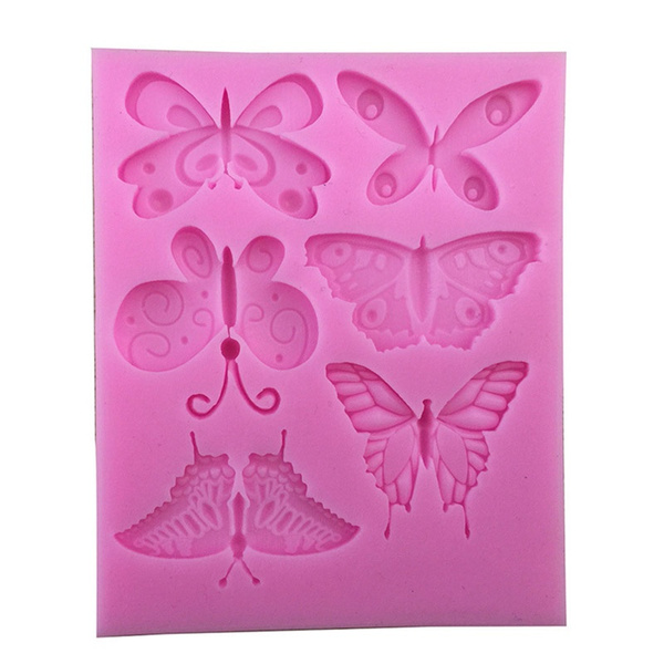 mould, butterfly, cakedecoratingmould, Silicone