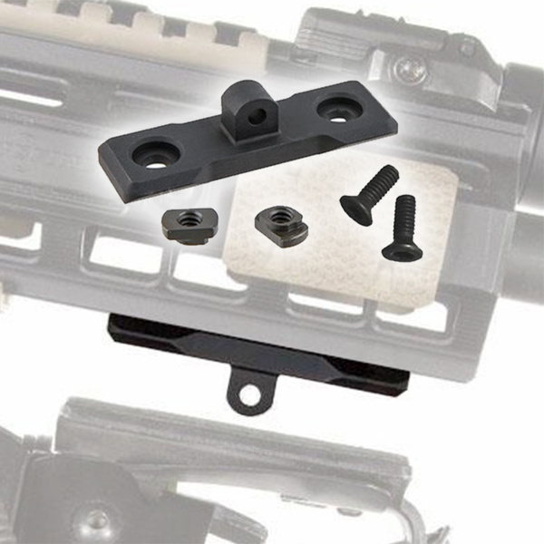 Tactical Bipod Mount M-lok Bipod Adapter Handguard Rail For Bipods Hunting