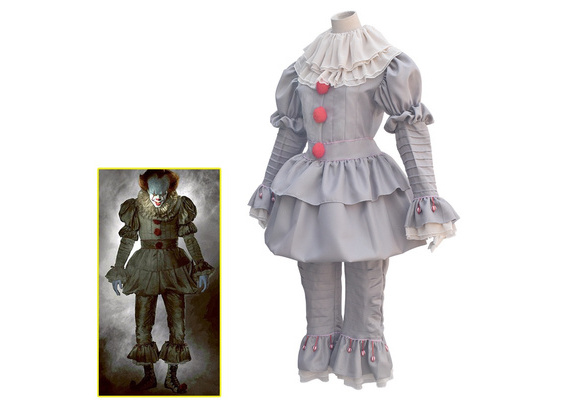 Sexy Costumes Stephen King It Cosplay Costume Pennywise Costume Clown Costume Halloween Costumes For Men Women Custom Made Outfit Suit Novelty & Special Use