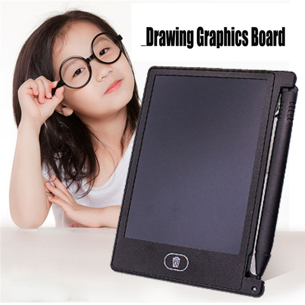 "4.4/"" LCD EWriter Paperless Memo Pad Tablet Writing Drawing Graphics Board"