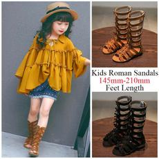 Summer, Sandals, Boots, Roman