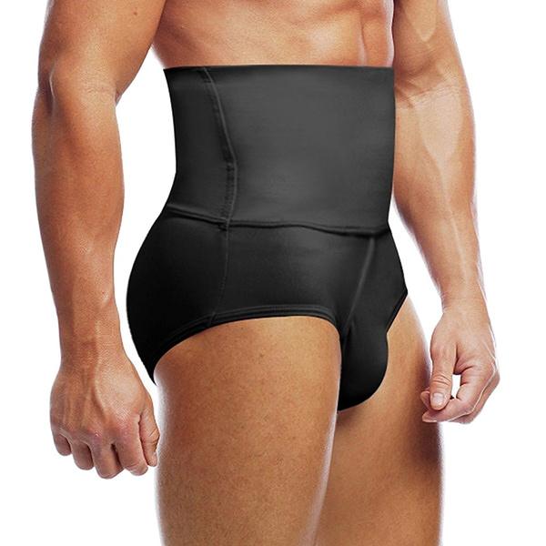 0d7e570a91a Men s Slimming Body Shaper High Waist Abdomen Tummy Control Shaping ...