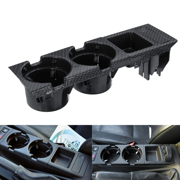 FRONT CENTER CONSOLE CUP//DRINKS HOLDER BLACK FOR BMW 3 SERIES E46 51168217953