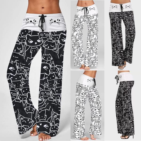 pajamapant, elastic waist, Yoga, Waist