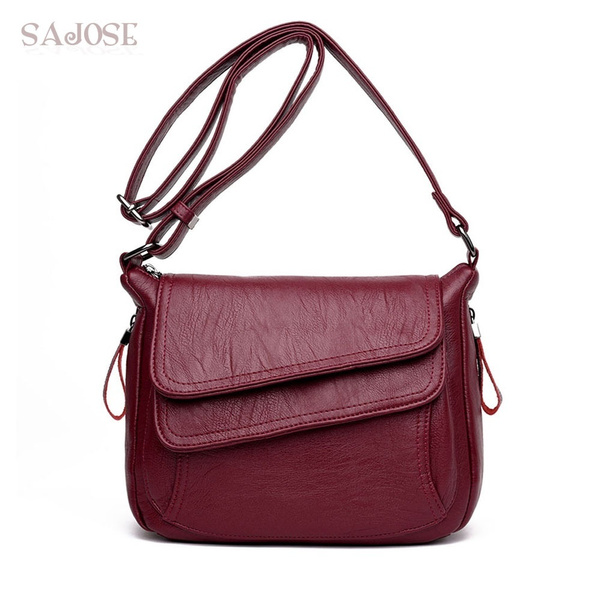 6a6c0d2e78e49 Women Leather Handbags New Style Women Bag sac a main femme Luxury ...