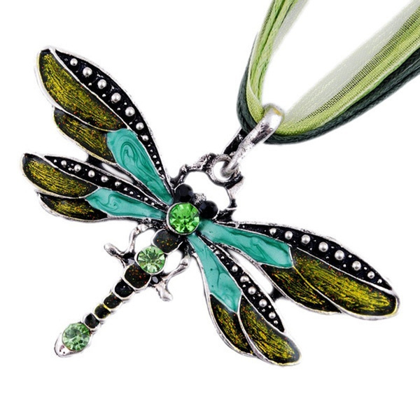 dragon fly, Jewelry, Crystal, Women's Fashion
