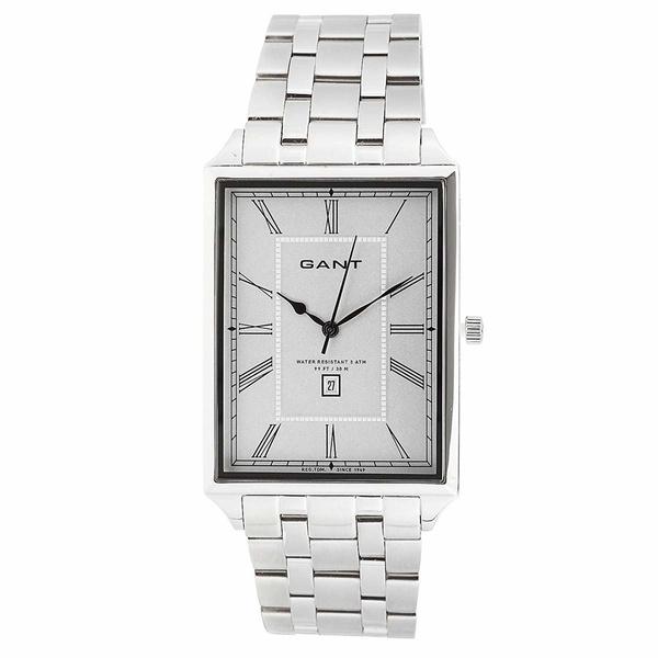 W10674 Gant Armbanduhr Herren Square Silber Windsor EDeH2IYW9