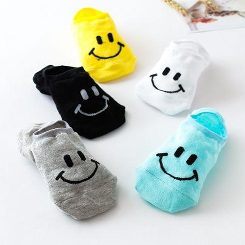 cf1027ff1038 Cartoon Round Smiley Socks Children Fashion Socks Smiley Face Harajuku Tube  Sock Cotton Lovers Socks | Wish