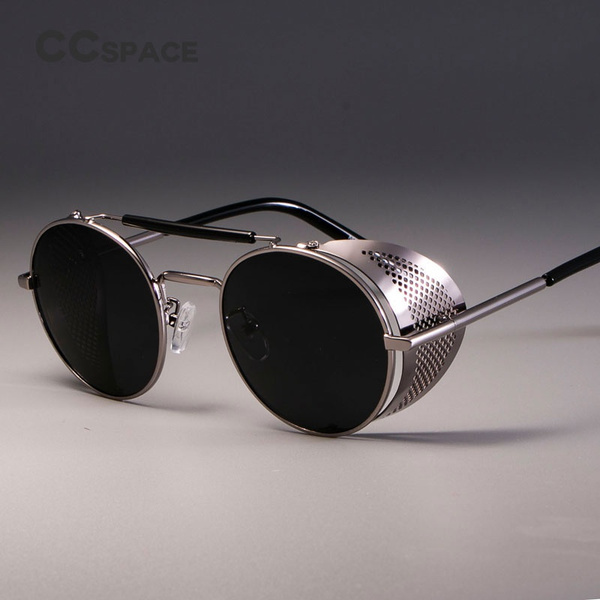 Men, uv, Sunglasses, Steampunk
