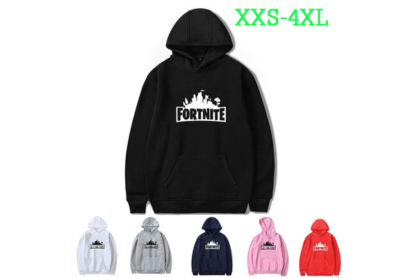 2018 New Type Famous Game Fortnite Printed Casual Long Sleeve Cotton Hoodie Streetwear Pullover Sweatshirt Jacket(XXS-4XL)