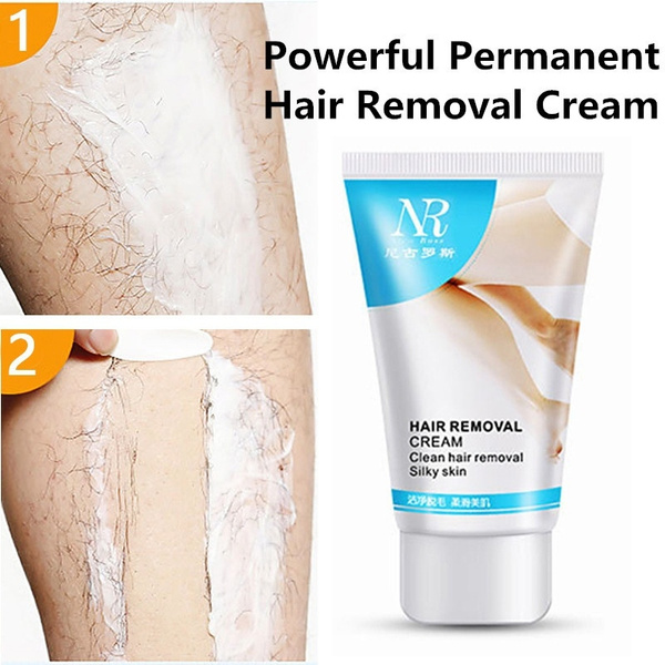 New Nr Powerful Permanent Hair Removal Cream Stop Hair Growth