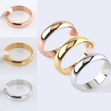 Steel, titaniumsteelringformen, plainring, wedding ring