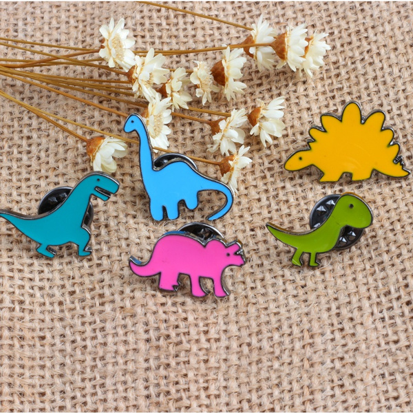 Decoration Brooch Pin Fashion Jewelry Elephant Animal Shape Enamel Brooch